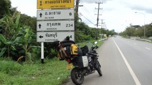 Only 234 kms to Bangkok