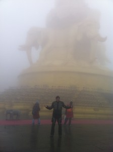 Me and the golden buddha