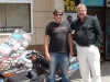 Me Dmitriy Petrukhin, KZ Bike Club President and his Beemer